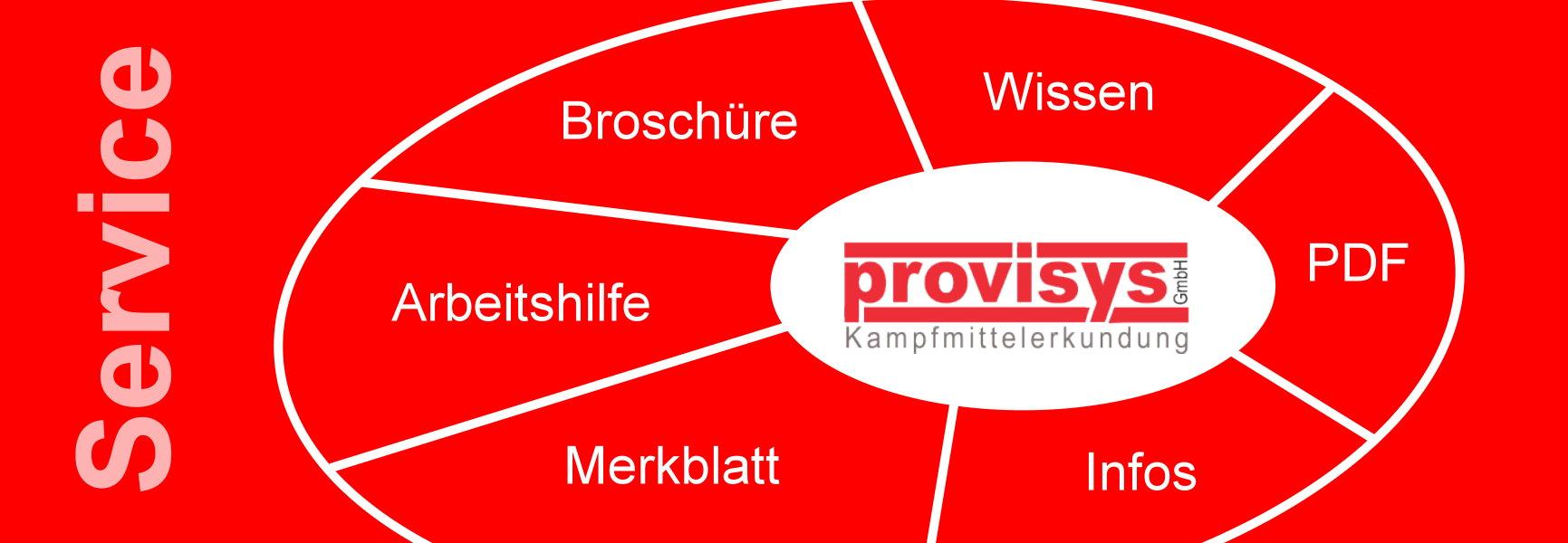 Service, Dienstleistungen, provisys GmbH