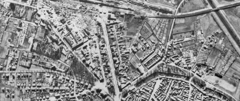 Luftbilder beschaffe, Luftbilder auswerten, Kampfmittelbeseitigung, bombardierte Gebiete, Recherche Luftbilder